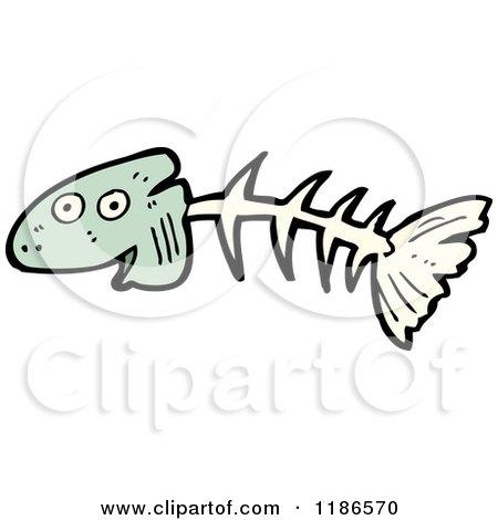 Cartoon Pictures Fish Bones Cartoon of Fish Bones