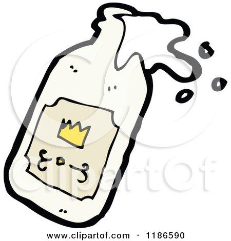 Cartoon Milk Bottle Milk Bottle