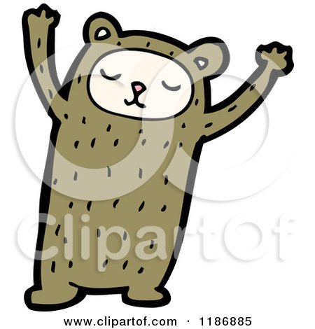 Cartoon of a Child in an Animal Costume - Royalty Free Vector Illustration by lineartestpilot