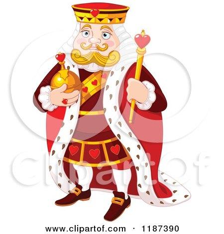 RoyaltyFree RF Clipart of King