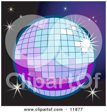 Sparkling Disco Ball Posters, Art Prints