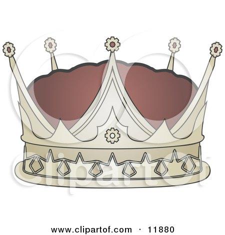 Kings Crown Clipart Illustration by AtStockIllustration