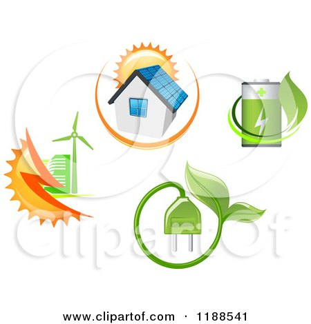 free clipart green energy - photo #45