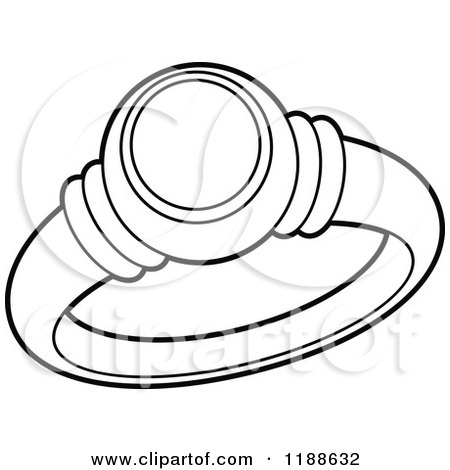 portfolio tikiri illustration black white wedding ring