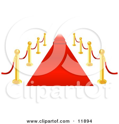 Royalty-Free (RF) Red Carpet Clipart, Illustrations, Vector ...