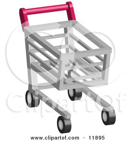 Shopping Cart Clipart Illustration by AtStockIllustration