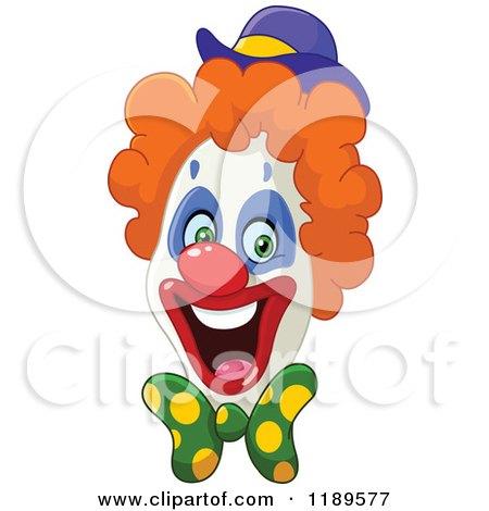 Enthusiastic Happy Clown Face Posters, Art Prints