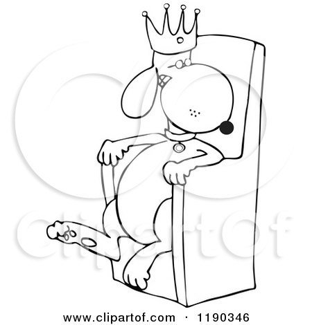 Kings Throne Drawing King Sitting in His Throne