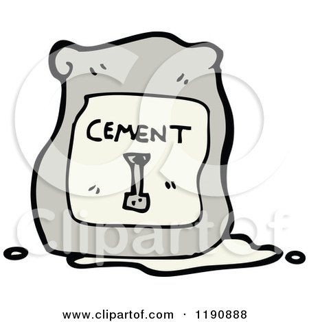 Royalty Free Rf Bag Of Cement Clipart Illustrations