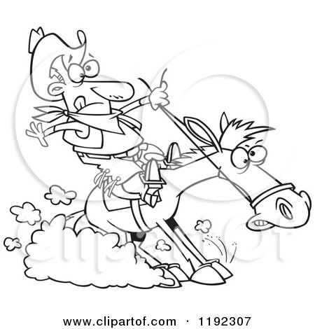 Royalty Free RF Clip Art Illustration Of A Cartoon Studly
