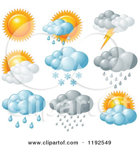 royalty free  rf  clipart of weather icons  illustrations rainbow clip art black and white for v-carve rainbow clipart black and white free