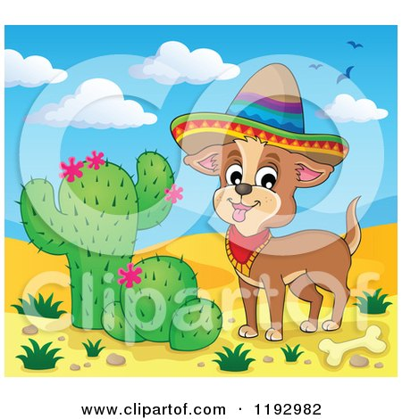 Clipart Outlined Mexican Man On A Donkey Royalty Free