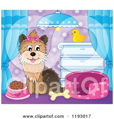 Royalty-Free (RF) Yorkshire Terrier Clipart, Illustrations, Vector ...