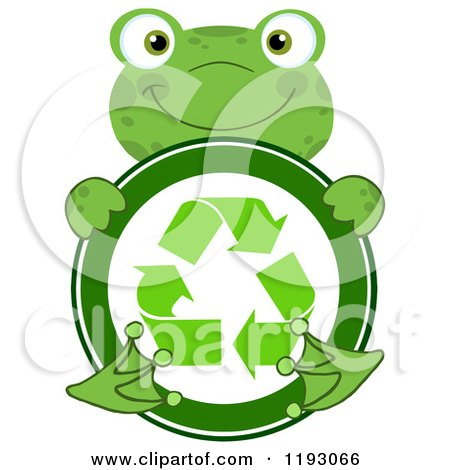 Recycle Symbol Circle a Recycle Symbol Posters