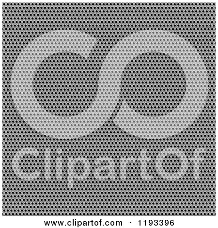 Clipart of a 3d Seamless Tight Metal Mesh Grill - Royalty Free CGI Illustration by Arena Creative