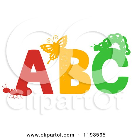 Royalty-Free (RF) Abc Clipart, Illustrations, Vector Graphics #1