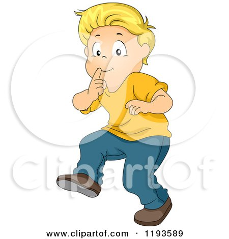 quiet boy clipart - photo #15