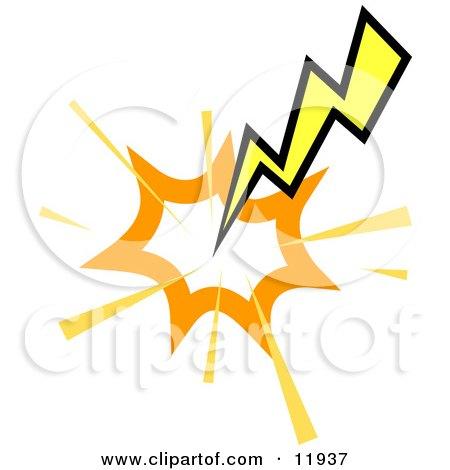 royalty free rf lightning clipart illustrations vector