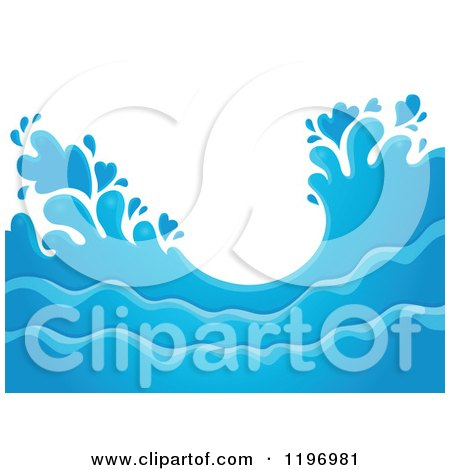 waves and splashes coloring pages - photo#35