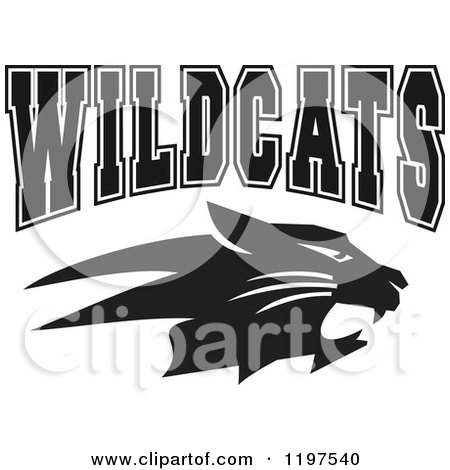 Royalty-Free (RF) Clipart of Team Wildcats, Illustrations, Vector ...