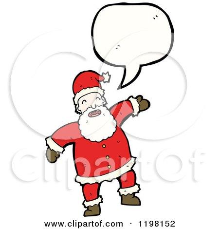 Royalty-Free (RF) Illustrations & Clipart of Santas #50