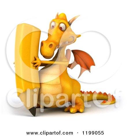Royalty-Free (RF) Dragon Writing Clipart, Illustrations, Vector ...