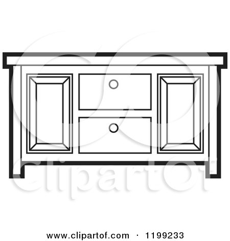 Royalty-Free (RF) Clipart of Cabinets, Illustrations, Vector ...