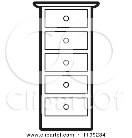 Black And White Tall Dresser