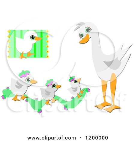 clipart canadian geese flying against clouds royalty