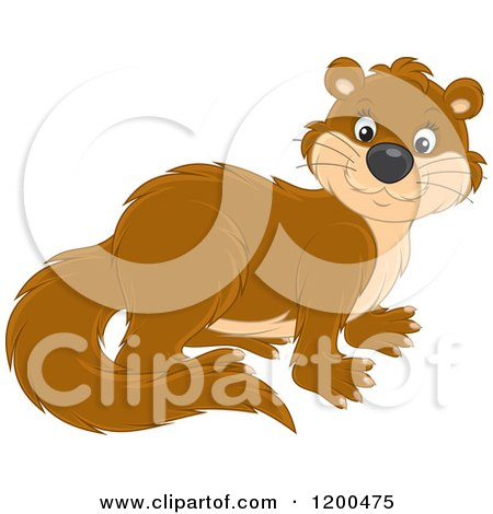 Royalty Free Rf Otter Clipart Illustrations Vector