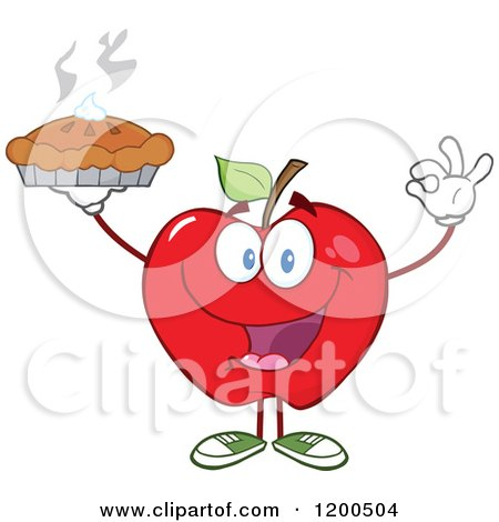 Royalty-Free (RF) Apple Pie Clipart, Illustrations, Vector Graphics #1