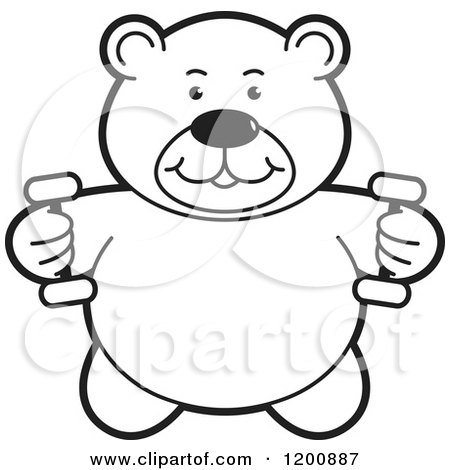teddy bear gymnastics coloring pages - photo#4