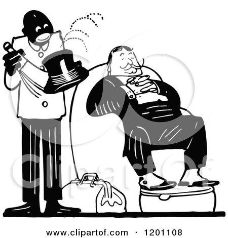 man servant clipart Clipart of  Butler Servant Clipart