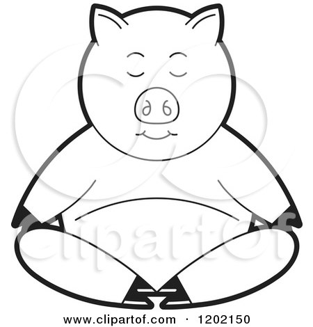 Free Hog Clipart Black And White, Download Free Clip Art, Free Clip Art on  Clipart Library