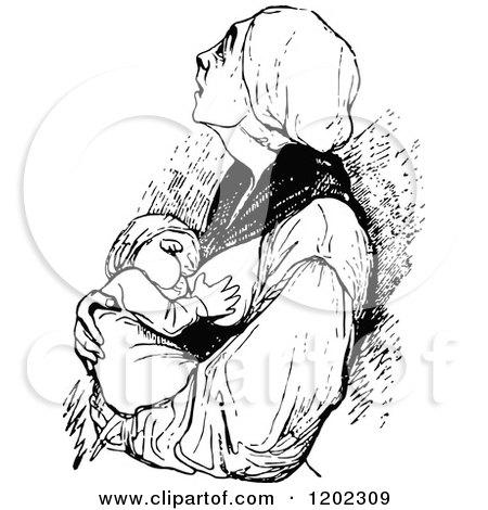 Royalty Free Rf Breastfeeding Clipart Illustrations