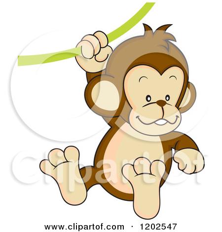 Royalty-Free (RF) Monkey Clipart, Illustrations, Vector Graphics #1 Chimpanzee Jane