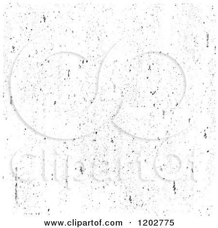 Clipart of a Black and White Grunge Overlay - Royalty Free Vector Illustration by BestVector