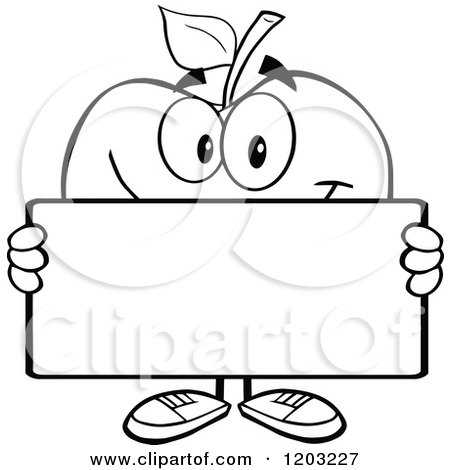 Teacher Apple Clipart Black And White Black And White Apple