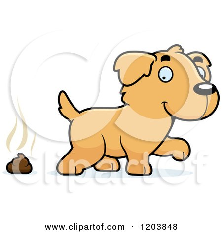 Royalty-Free (RF) Clip Art Illustration of a Stinky Pile Of Poop ...