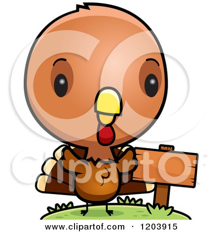 Baby Turkey Cartoon Pictures Cartoon of a Cute Baby Turkey