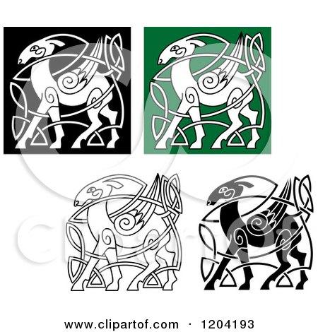 Celtic Deer Knot Designs Celtic Stag Head