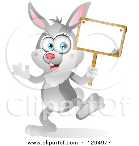 Royalty-Free (RF) Rabbit Sign Clipart, Illustrations ...