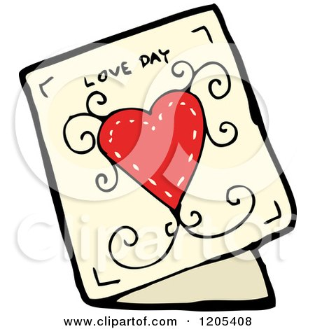 Royalty-Free (RF) Valentines Day Card Clipart ...
