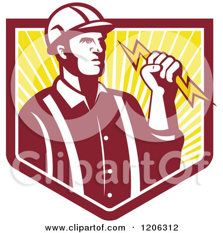 Royalty-Free (RF) Electrician Clipart, Illustrations, Vector ...