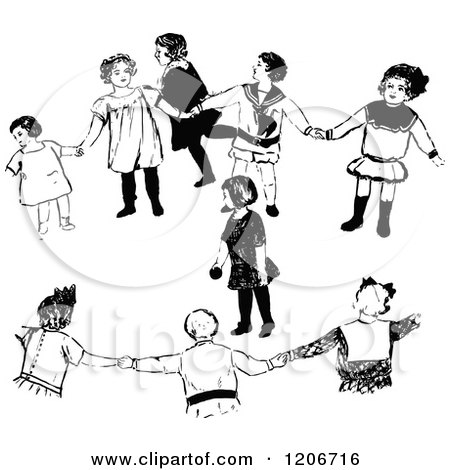 Kids Playing Games Clip Art Preview clipart