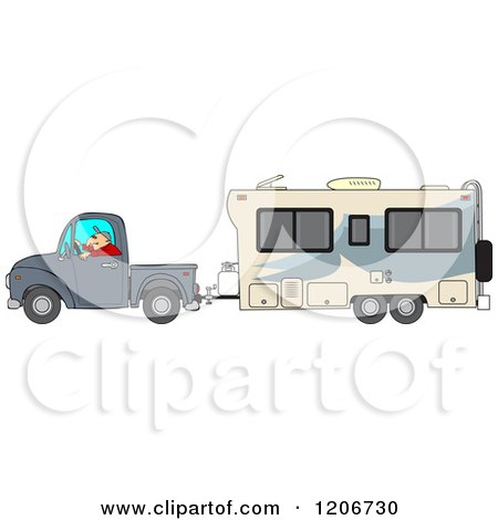 Royalty-Free (RF) Clipart of Trailers, Illustrations, Vector ...