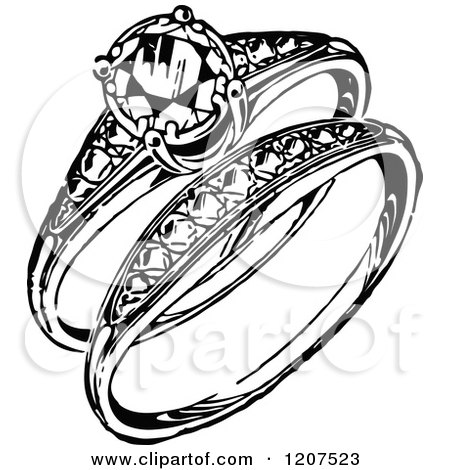 Royalty Free Wedding Ring Illustrations by Prawny Vintage Page 1