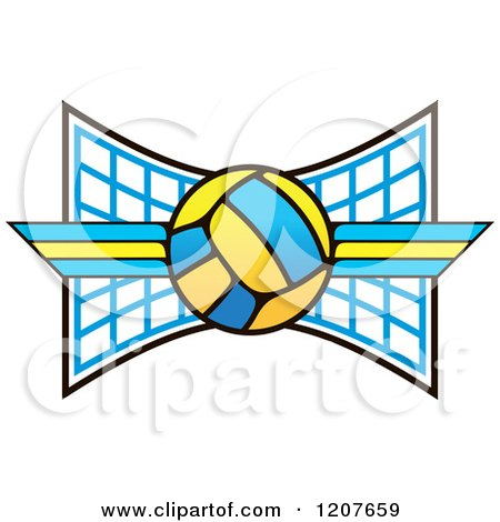 Royalty-Free (RF) Volleyball Net Clipart, Illustrations ...