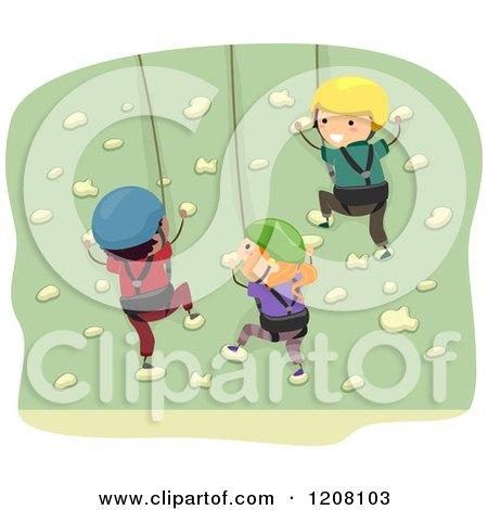 Royalty-Free (RF) Rock Climbing Clipart, Illustrations, Vector ...