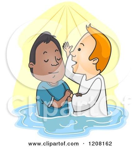 Royalty Free Rf Baptism Clipart Illustrations Vector